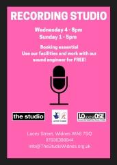 Recording Studio (Poster)