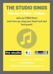 The Studio Sings (Poster)