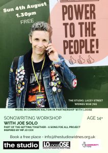 SongWriting Workshop with Joe Solo (1)