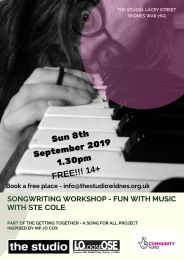 SongWriting Session with Ste Cole (1)